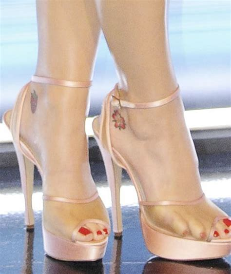 katy perry s tattoos katy perry s cherry blossom ankle