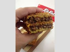 The Deep Fried KitKat Grilled Cheese Sandwich | DudeFoods.com Arby S Meat Mountain