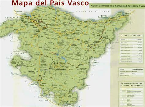 españa pais vasco mapa pa 237 s vasco