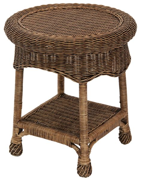 Rattan Side Table Monte Carlo Wicker Rattan Side Table Ebay