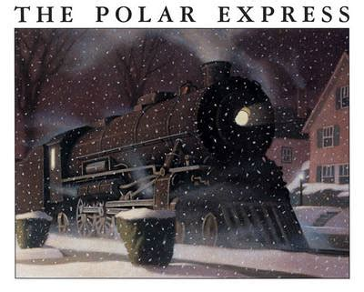 polar express book pictures the polar express by chris allsburg waterstones