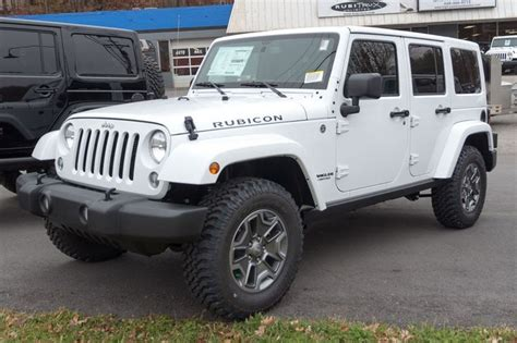 rubicon jeep white stock jeep wrangler rubicon for sale white second image
