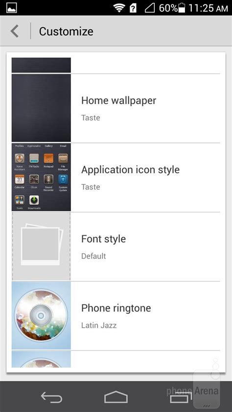 themes huawei ascend p6 huawei ascend p6 review interface and functionality