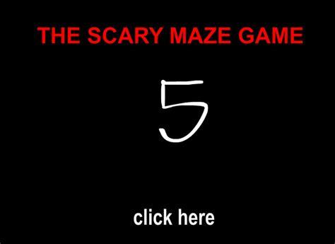 scary maze 5 scary maze