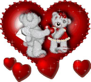 imagenes de osos con rosas y corazones im 225 genes de amor con movimiento corazones rosas flores