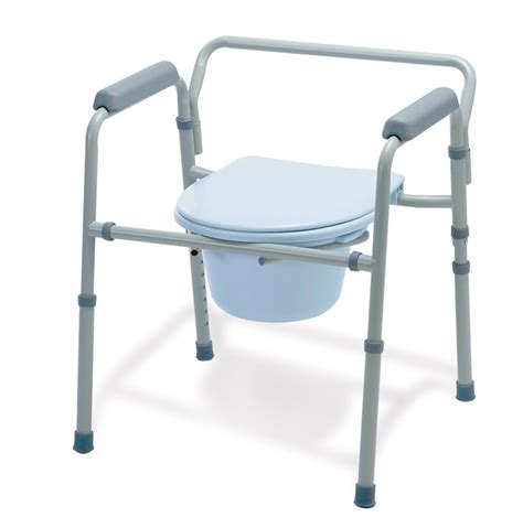 Folding Steel Commode by Folding 3 In 1 Steel Commode