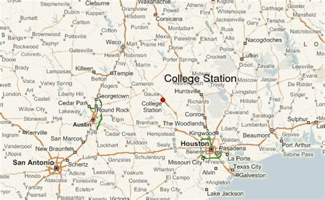 college station texas map college station location guide