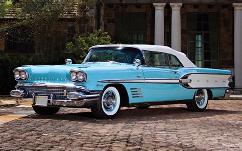 wallpaperup classic cars pontiac bonneville convertible 1958 old cars classic