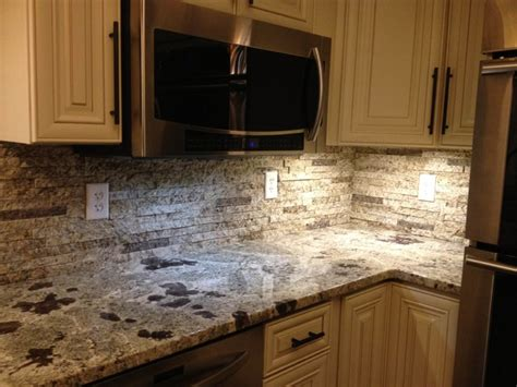 Recycling Granite Countertops by Ktichen Backsplash Traditional Kitchen Indianapolis