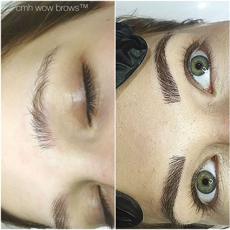 feather eyebrow tattoo eyebrow tattooing hair stroke feather touch
