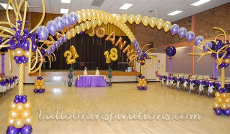 colour themes for 18th birthday gold balloons archives ballooninspirations com