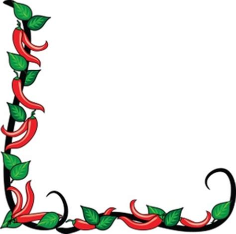 christmas chili pepper clipart (14+)