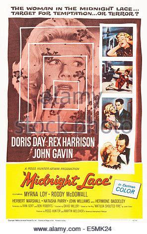 doris day & john gavin midnight lace (1960 stockfoto, bild