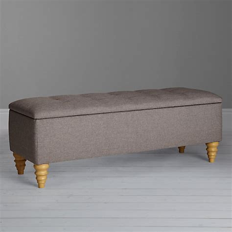 Fabric Covered Ottomans Buy Lewis Rouen Fabric Covered Ottoman Blanket Box