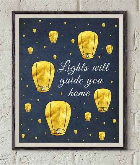 Lights Will Guide You Home Coldplay by Coldplay Song Lyrics Lights Will Guide You Home Paper