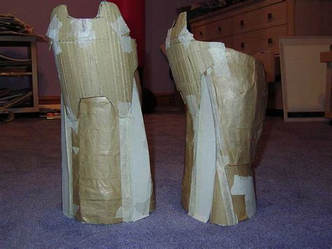 How To Make Paper Mache Armor - spartan armour 2 by phoenixtrooper on deviantart