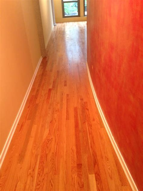 select grade red oak with a natural finish yelp