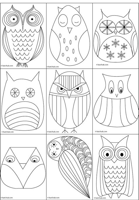 templates for rock painting free printable owl applique pattern memes