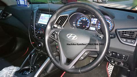 Car Interior Refurbishment Malaysia by Hyundai Veloster Turbo Malaysian Spec Car Spied Image 224594