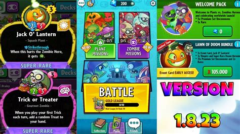 pvz hereos card template plants vs zombies heroes version 1 8 new event cards