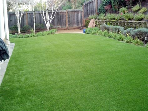 Backyard Artificial Grass by Synthetic Grass Cost Lawn And Garden