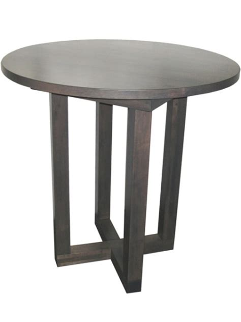 tangent pedestal table with leaf