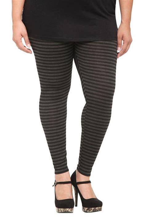 black and grey patterned leggings black and grey striped leggings i am torrid pinterest