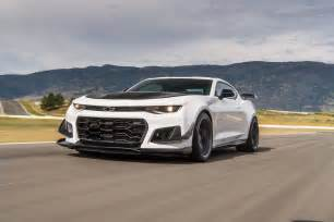2018 chevrolet camaro zl1 1le test review motor trend