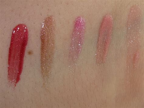 Nyx 3d Tint lorac lip lustre gloss review swatches musings of a muse