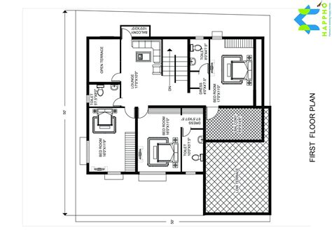 floor plans 2500 square 5 bhk floor plan for 25 x 25 plot 2500 square