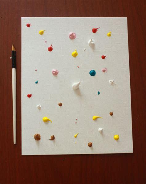 pintar un cuadro abstracto c 243 mo hacer un cuadro de arte abstracto con los ni 241 os