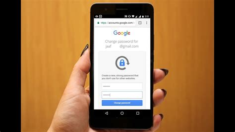 change gmail password on android phone how to change recover forgotten gmail password in android phone 100 works no email or number