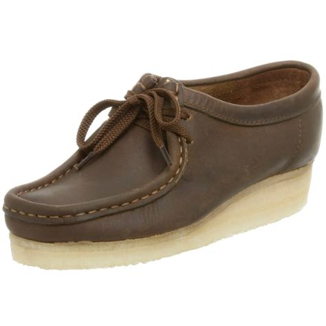 clarks s wallabee oxfords shoes beeswax ebay