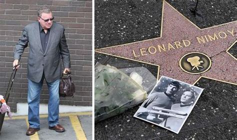 william shatner didn t attend leonard nimoy s funeral