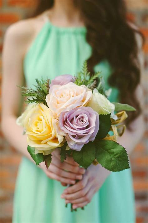 Pre Made Bridesmaid Bouquets by 68 Best Pin It To Win It Images On Silk
