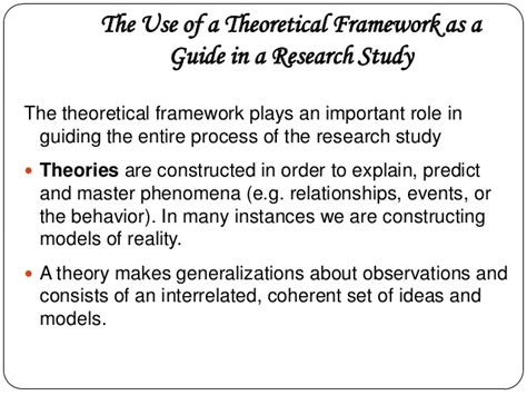 sle of conceptual framework in research paper conceptual and theoretical framework