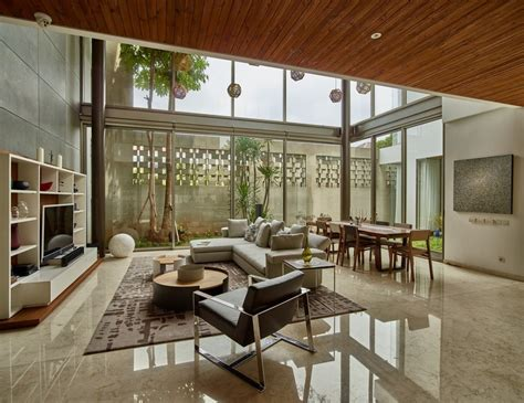 home design store jakarta tropical open house in jakarta indonesia raw architecture