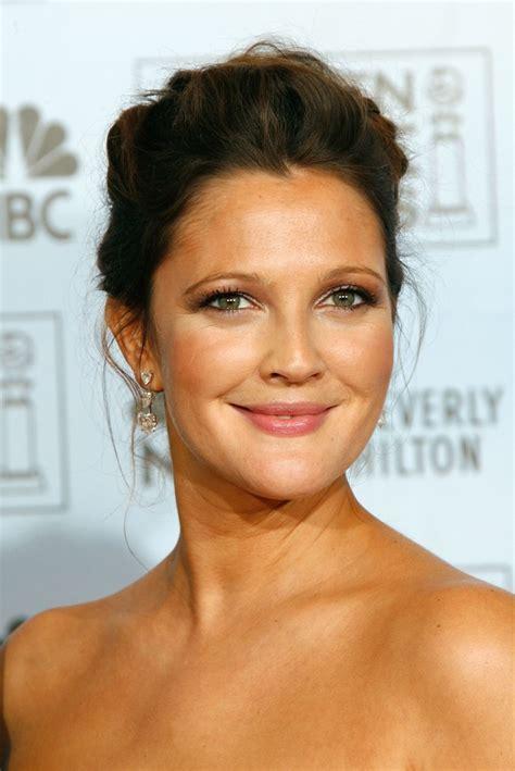Zita Brown Earrings drew barrymore in the 64th annual golden globe awards