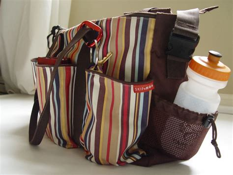 Great Duo Duo Bag skip hop duo deluxe uptown stripe review great for