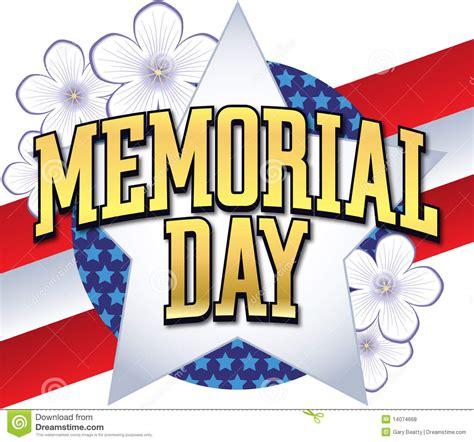 memorial day clipart memorial day logo type stock vector image of border