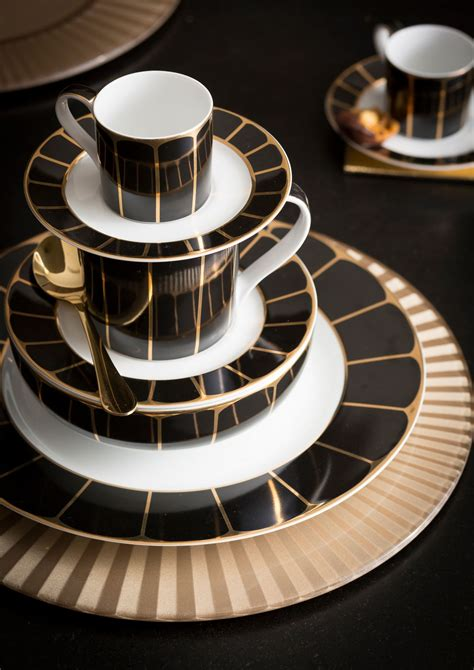 Art Deco Dining Room Sets Bold And Beautiful Dinner Sets And Furniture From House