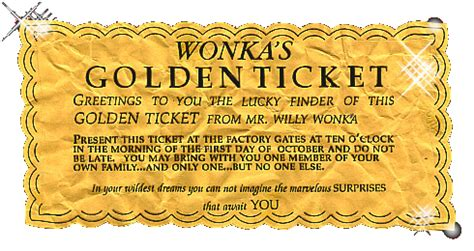 willy wonka ticket template the golden ticket