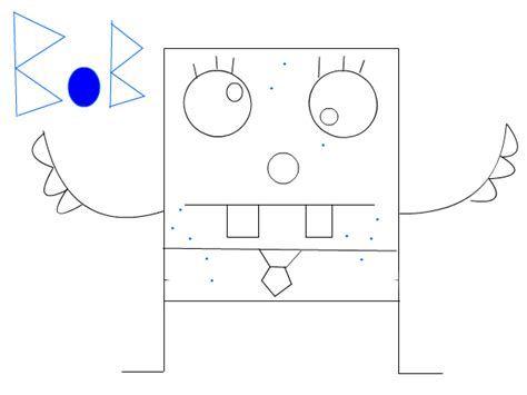 how to draw doodlebob doodlebob slimber drawing and painting