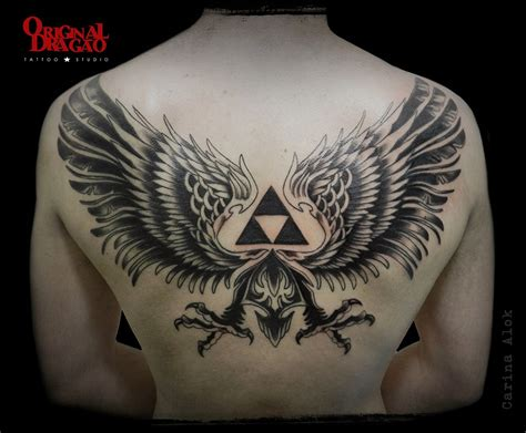 original drag 227 o tattoo studio bh zelda triforce tattoo