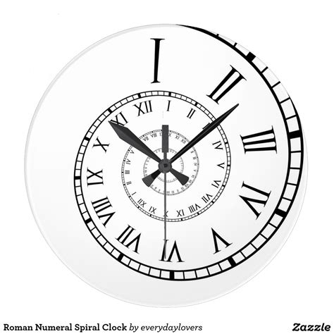roman numeral clock tattoo numeral spiral clock everyday