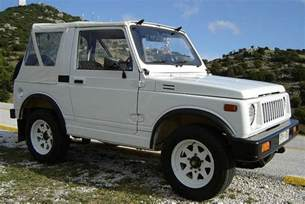 Samari Suzuki Suzuki Weekend Will The Suzuki Samurai And The Suzuki