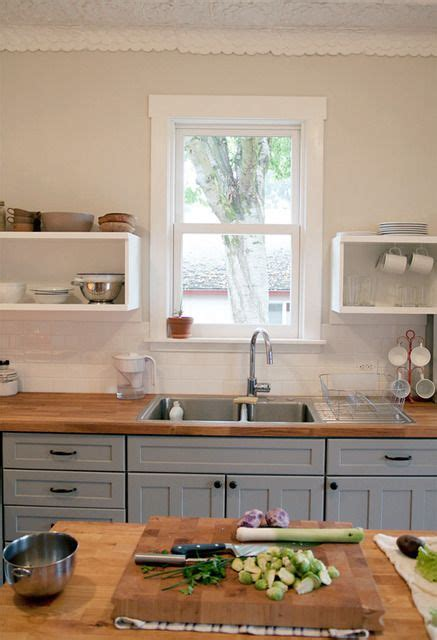 butcher block countertops ideas  pinterest