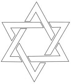 star of david coloring page star of david colouring pages