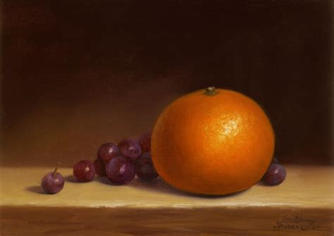 orange painting orange with grapes oil available paintings