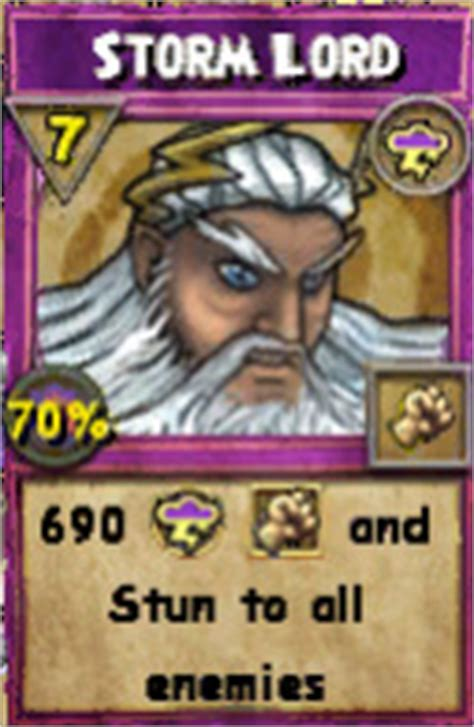 Wizard 101 Gift Card - level 48 storm only